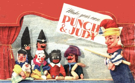 Punch and Judy Puppets you can make yourself
